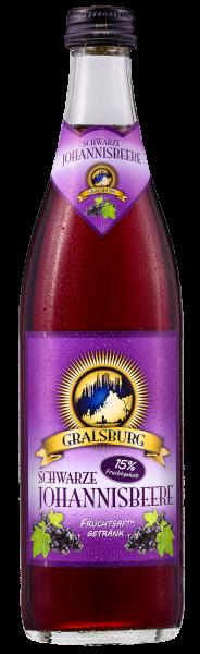 Gralsburger - Schwarze Johannisbeere in der 0,5l Glasflasche