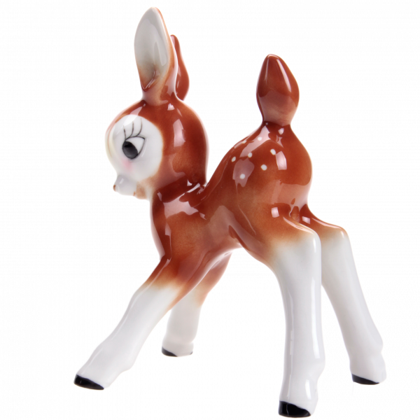 Bambi - Porzellanfigur von Wagner & Apel