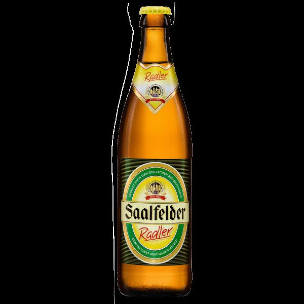 Radler - Saalfelder Bier in der 0,5l Flasche