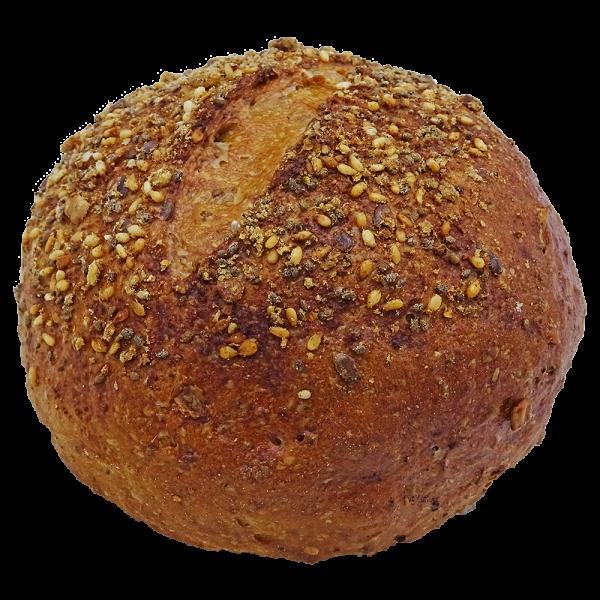 Chia-Brötchen der Bäckerei Anton