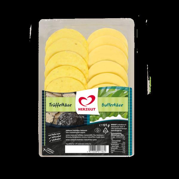 Schnittkäse 2in1 Trüffel/Butter