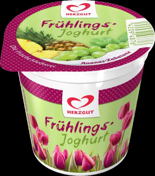 Frühlingsjoghrt Ananas-Zabaione