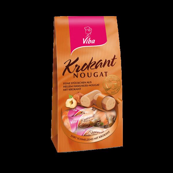 Krokant-Nougat Beutel