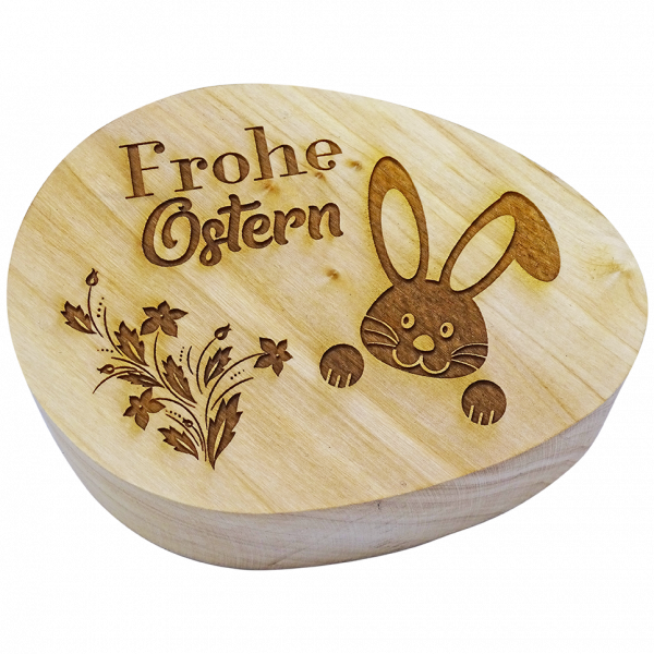 """Holzei """"Frohe Ostern"""" flach"""