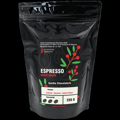 Goethe Espresso Kaffee