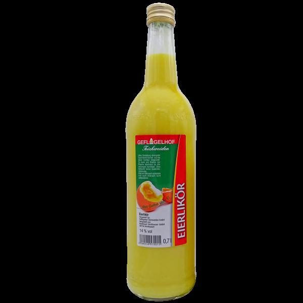 Geflügelhof Teichweiden I Eierlikör I 700 ml Flasche