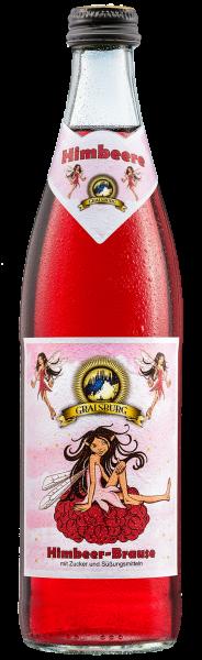 Gralsburger - Himbeer Brause 0,5l Glasflasche