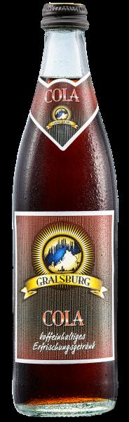 Gralsburger - Cola in der 0,5l Glasflasche