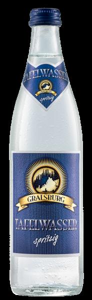 Gralsburger - Tafelwasser spritzig