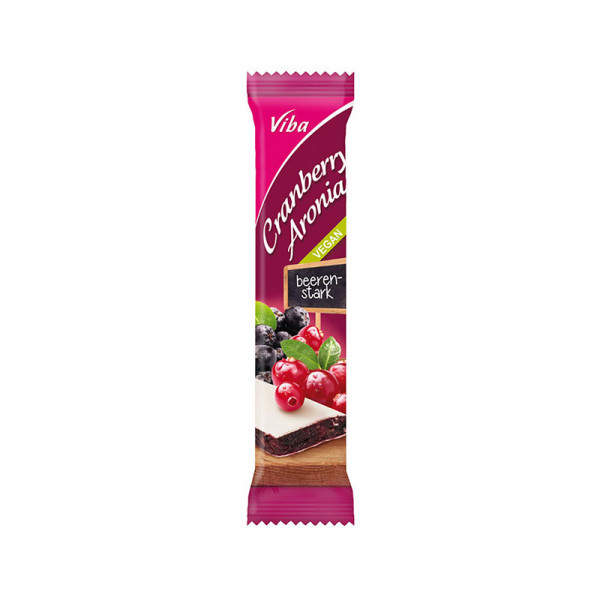 Fruchtriegel Cranberry-Aronia - Viba