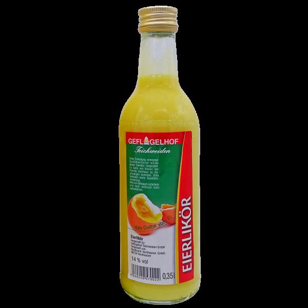 Geflügelhof Teichweiden I Eierlikör I 350 ml Flasche