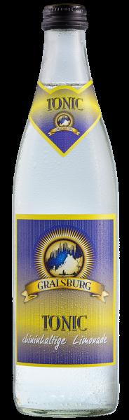 Gralsburger - Tonic 0,5l Glasflasche