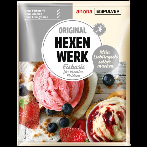 HEXENWerk Eispulver - Basis: zur Herstellung von kreativen Eisideen