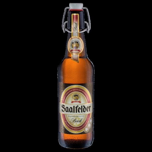 Bockbier - Saalfelder Bier in der 0,5l Bügelflasche