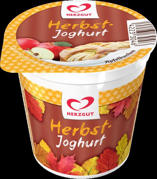 Herzgut Molkerei Herbstjoghurt - Apfelkuchen