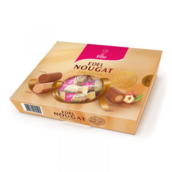 Edel-Nougat Variation in der Geschenkverpackung - Viba
