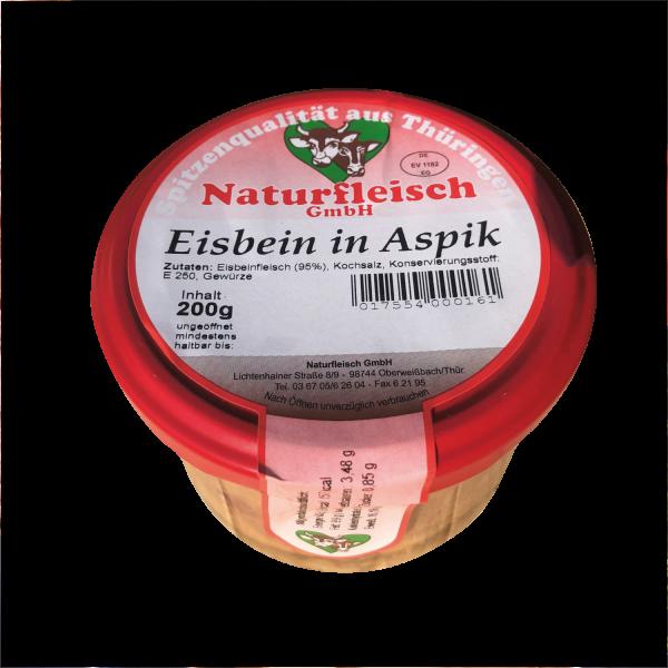 Eisbein in Aspik