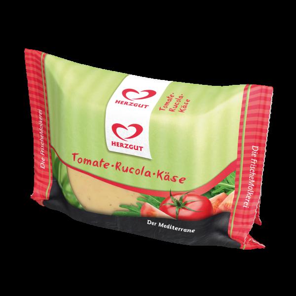 Schnittkäse Tomate-Rucola