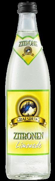 Gralsburger - Zitronenlimonade in der 0,5l Glasflasche