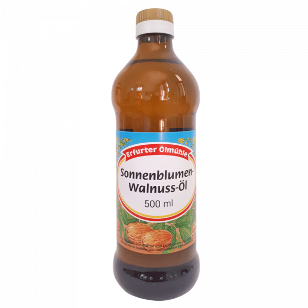 Sonnenblumen-Walnuss-Öl