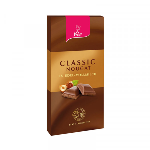 Edelvollmilchschokolade Classic-Nougat - Viba