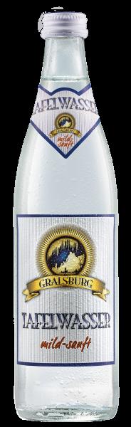 Gralsburger - Tafelwasser mild-sanft