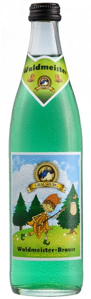 Gralsburger - Waldmeister Brause 0,5l Glasflasche