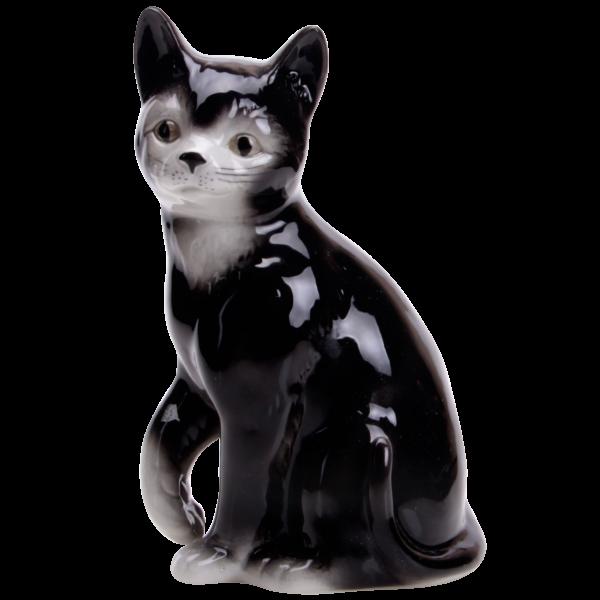 Katze - Porzellanfiguren von Wagner & Apel