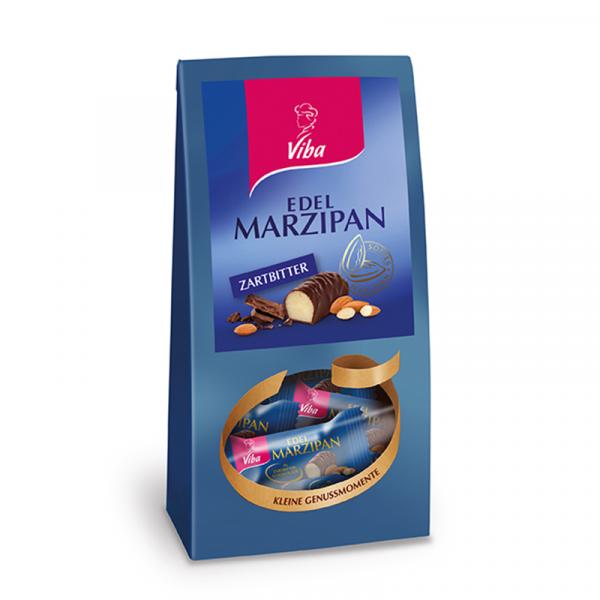 Edel-Marzipan-Minis mit Zartbitterschokolade - Viba Sweets