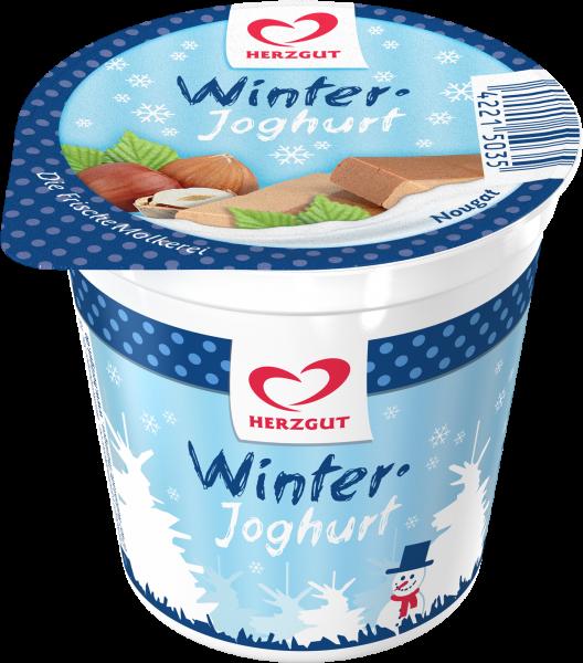 Winterjoghurt Nougat