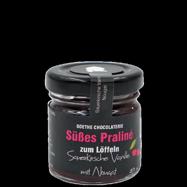 Praliné Sauerkirsch-Vanille